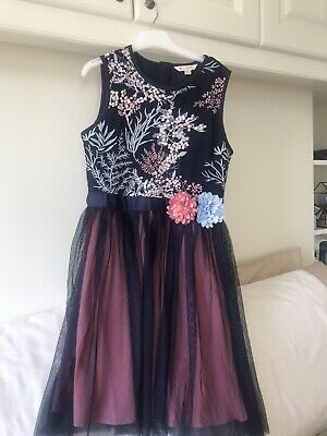 Yumi Girls Party Dress Age 11/12 Suitable 9-10 Yrs • 7.99£