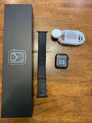 $ CDN149.89 • Buy Apple Watch Series 4 Nike+ 44 Mm Space Gray Aluminum Case With Anthracite/Black