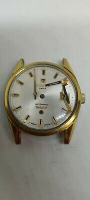 $ CDN150 • Buy Vintage Tissot Automatic Seastar With 784-2 Mechanism For Parts Or Assembly.