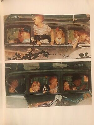 $ CDN10.38 • Buy The Best Of Norman Rockwell 1979 Poster Book, 40 Saturday Evening Post Prints