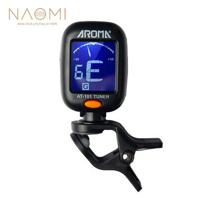 $ CDN2.49 • Buy NAOMI AROMA AT-101 Electric Guitar Tuner Foldable Rotating Clip High Sensitivity