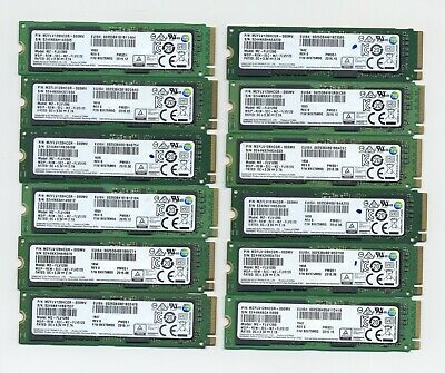 $ CDN274.91 • Buy Lot Of 12 Samsung PM951 MZ-FLV1280 NVMe PCIe Gen3 X4 M.2 2280 128GB SSD Drives