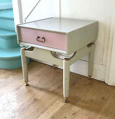 Vintage G-Plan Librenza Lilac Bedside Table Or Side Table With Drawer. E Gomme. • 25£