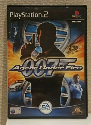 007 Agent Under Fire Sony PlayStation 2 Ps2 Complete In Box • 3.95£