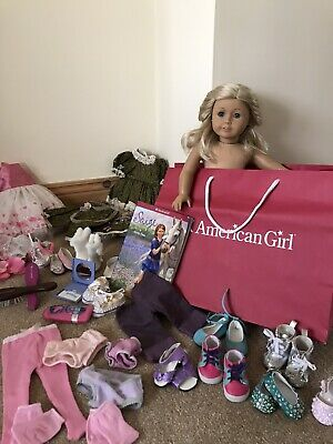 American Girl Doll And Clothes Accories Bundle • 100£