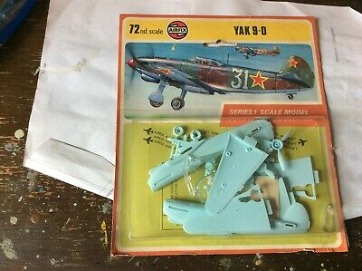 Vintage 70's Airfix 1/72 Yak 9D New In Blister *2 • 14£