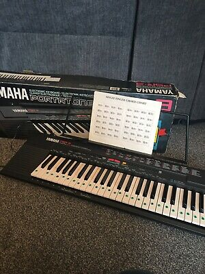 Yamaha PSR-3 PortaTone Electronic Keyboard Boxed & Power Supply Full Size • 34.99£