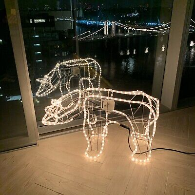 Christmas Polar Bear LED Moving Figure Xmas Decoration Unique Lights Tree Indoor • 85£