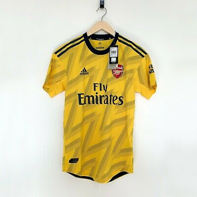 (NEW) Adidas Arsenal Away 'Authentic' Player Issue Match Shirt (EXTRA LARGE) XL • 124.95£