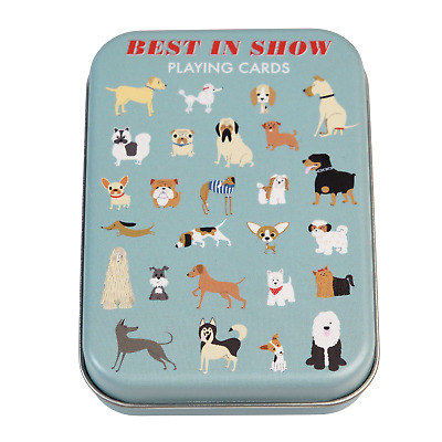 £3.95 • Buy Rex London BEST IN SHOW PLAYING CARDS IN A TIN