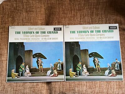 Gilbert & Sullivan-The Yeomen Of The Guard- Conducted By Sir Macolm Sargent • 6.90£