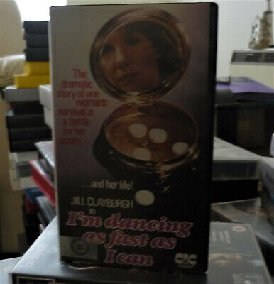 I'm Dancing As Fast As I Can (PRE-CERT VHS) On The CIC Video • 0.99£