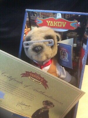 Meerkat New In Box Ideal Christmas Present Yakov With Certificate • 5£