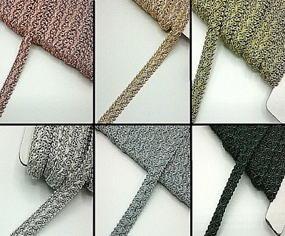 £2.85 • Buy  Furnishing Gimp Braid Trimming 15mm Wide All Colours