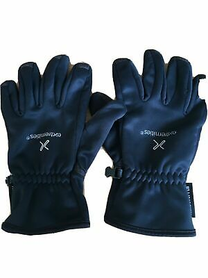 Extremities Gloves Men Medium Black Cycling Walking Climbing Wind Stopper Black • 12£