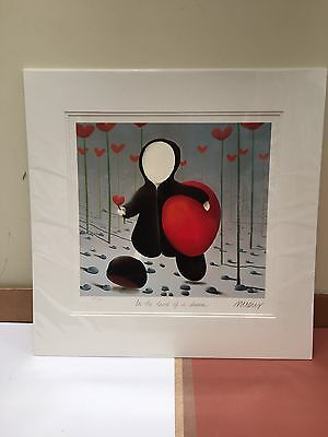 Mackenzie Thorpe - In The Land Of A Dream -Signed Mounted Ltd Edit. Brand New • 295£