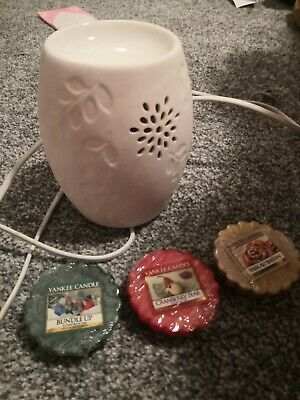 Electric Wax Burner With Yankee Candle Wax Melts • 8.50£