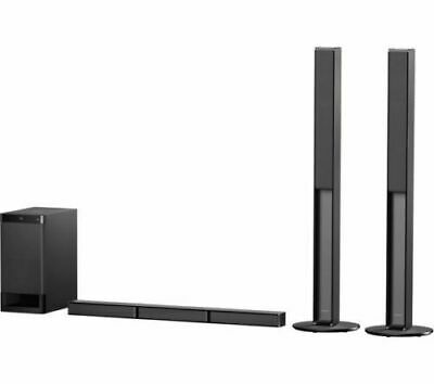 SONY HT-RT4 - 5.1ch 600W HOME THEATRE SOUND BAR WOOFER AND REAR SPEAKERS • 220£