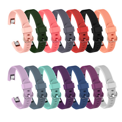 $ CDN3.37 • Buy Watch Band Replacement Bands Silicone Wrist Strap Soft For Fitbit Alta HR Ace