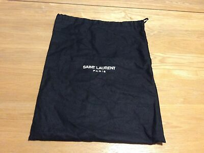 Genuine Saint Laurent YSL Black Dust Bag Storage Bag • 1.99£