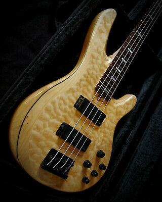 Yamaha Bass TRB1004 In Natural - Quilted Maple Top - Includes Hard Foam Case • 699£