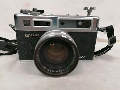 Yashica Electro 35 GSN Vintage Film Camera Photography With Original Case #221 • 18£