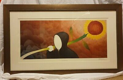 Sunshine By Mackenzie Thorpe. Signed & Numbered A168. New With COA. FRAMED • 120£