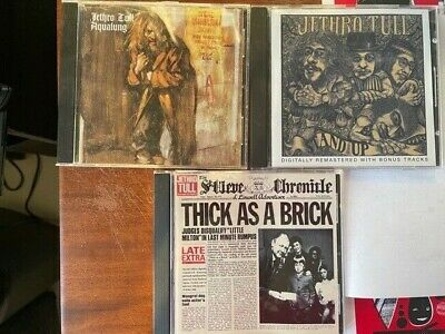 $ CDN18.29 • Buy Jethro Tull Lot Of 3 CDs - Aqualung, Stand Up & Thick As A Brick