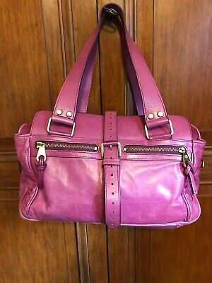 Genuine Mulberry Regular Mabel In Pink Antique Leather. Good Used Condition. • 125£