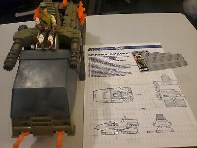 $ CDN58.80 • Buy Vintage GI JOE HAVOC W/Cross Country - 100% Complete W/file Card And Blueprints