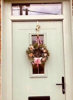 Anthropologie Christmas Wreath Hook/Door Hanger. • 13.50£