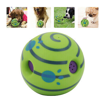 AU16.99 • Buy Wobble Wag Giggle Ball Dog Doggy Indoor Outdoor Pet Toy Rolling Shaken W Sound
