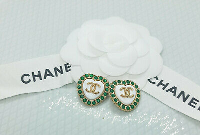 2 Genuine Stamped Chanel Buttons. Vogue Essential. Perfect Xmas Gift • 12.99£