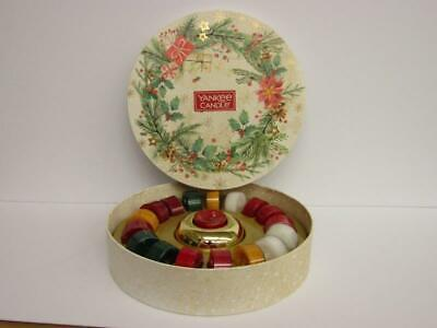 """2020 Yankee Candle Christmas 18 """"T"""" Lights With Holder Gift Set • 19.99£"""