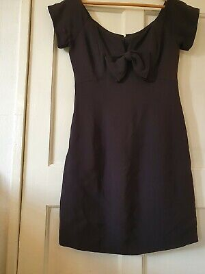 Caroline Charles Black Dress Size 12 BNWT £58 • 2.90£
