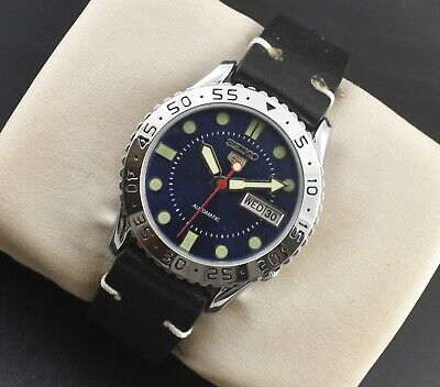 $ CDN1.29 • Buy Vintage Seiko Automatic Sports 17 Jewels Cal.6309a Day Date Mens Wrist Watch