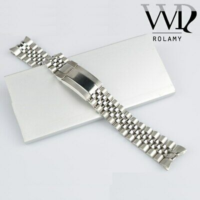 $ CDN38.66 • Buy 20mm 316L Steel Watch Band Jubilee Oyster Clasp For Submariner GMT Master II