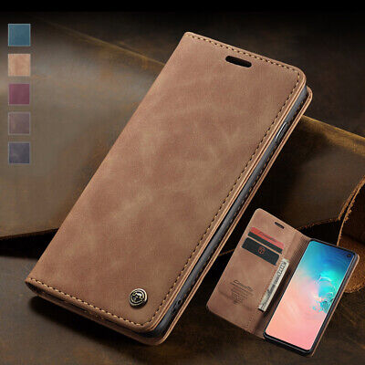 $ CDN8.80 • Buy Magnetic Wallet Case For Samsung Galaxy S20 Ultra S10e S9 S8+ Leather Flip Cover