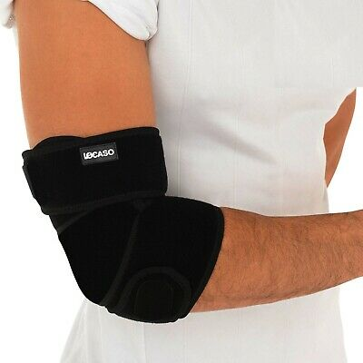 Elbow Support Brace Adjustable Tennis Golfers Strap Lateral Pain Gym Bandage X1 • 4.89£