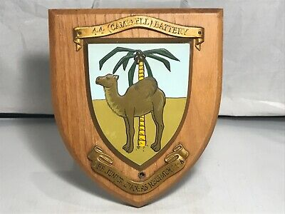 Juniors Leaders Regiment Royal Artillery  Wall Plaque / Shield ( Hand Painted )  • 39.50£