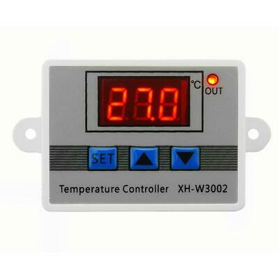 W3002 Digital Temperature Controller 10A Thermostat Control Switch W/ Probe • 5.79£