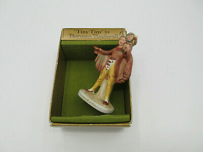 $ CDN6.55 • Buy 1979 TINY TIM By Norman Rockwell Figurine Christmas Ornament With Box