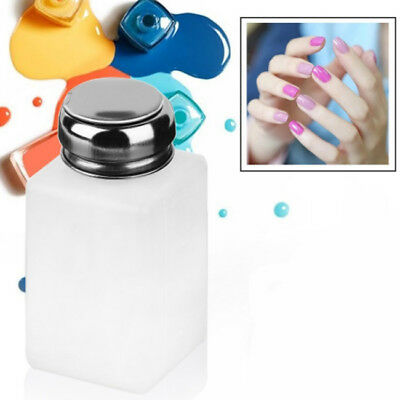 Empty Alcohol Nail Art Polish Simply Remover Cleaner Pump Dispenser Bottle RE • 2.79£