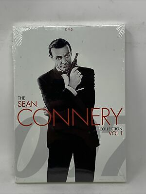 $18.99 • Buy Sean Connery James Bond Agent 007 DVD Collection Box Set Edition New & Sealed!