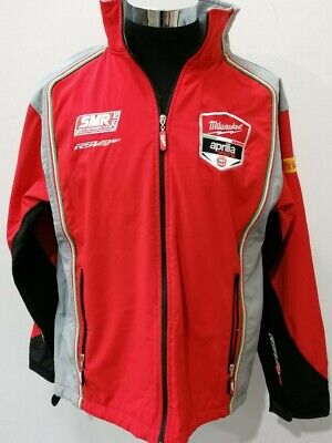 Milwaukee Aprilla Soft Shell Jacket / Gillet Pirelli Gulf SMR Superbike Large • 9.99£