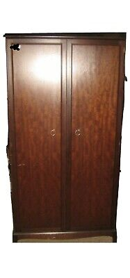 Stag Wardrobe And Bedside Cabinet • 50£