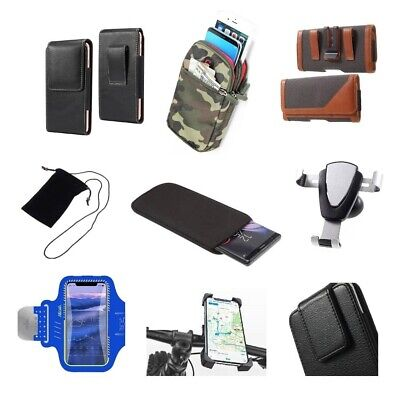 £27.52 • Buy Accessories For HTC Desire 650 (2016): Case Sleeve Belt Clip Holster Armband ...