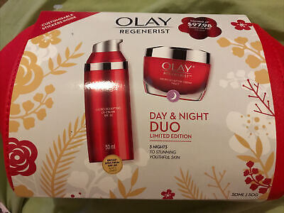 AU50 • Buy Olay Regenerist Day And Night Duo With Makeup Bag Bnwt Unwanted Gift