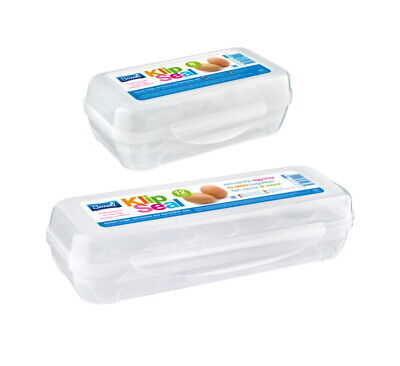 £5.99 • Buy Eggs Box Case Plastic Portable Carry Case Storage Tray Holder Container Box 8/12