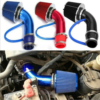 $33.90 • Buy Car Accessories Cold Air Intake Filter Induction Kit Pipe Power Flow Hose System
